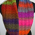 Snood multicolore 1