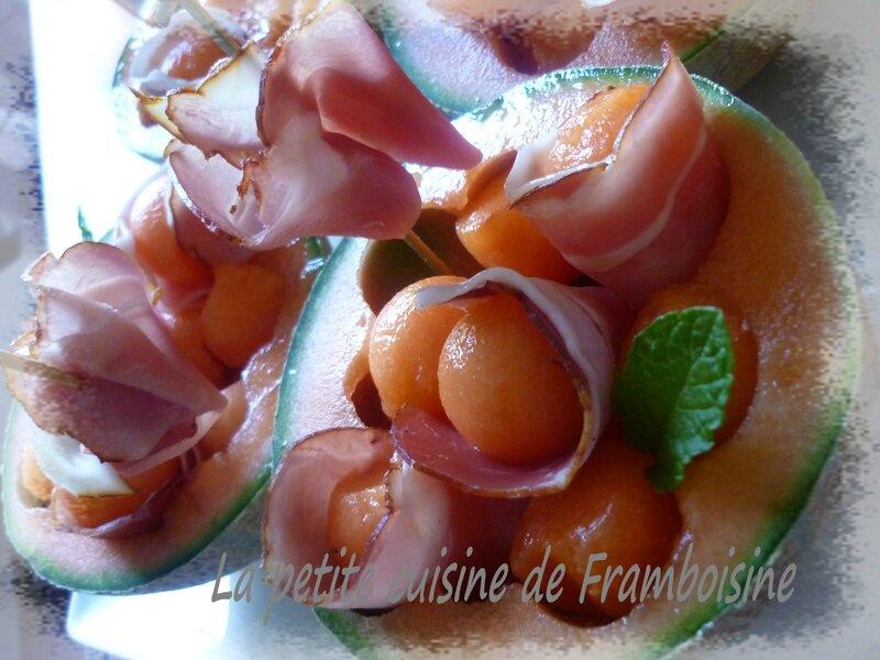 melon et brochette st javques (4)