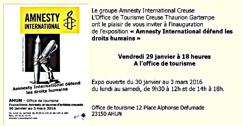 expo Amnesty Ahun