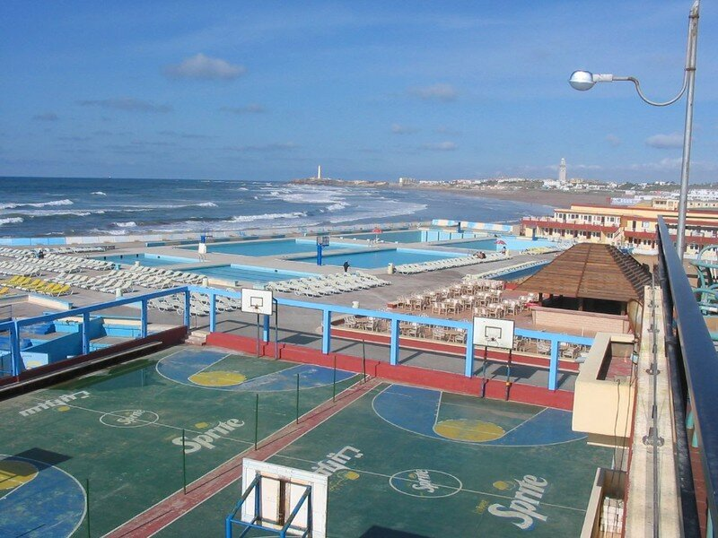 Piscine Beach club Casablanca