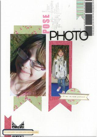 pose photo