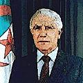 Chadli bendjedid et la transition vaguement pluraliste de l'algérie