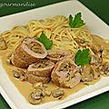 Paupiettes de veau à l'italienne
