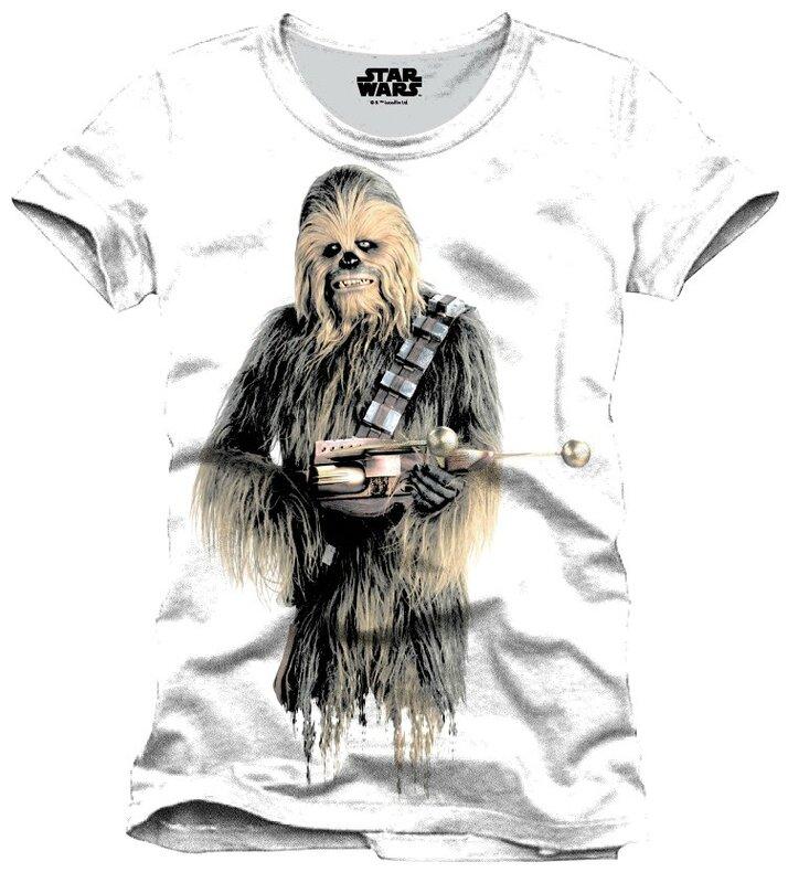 panini chewbacca t-shirt