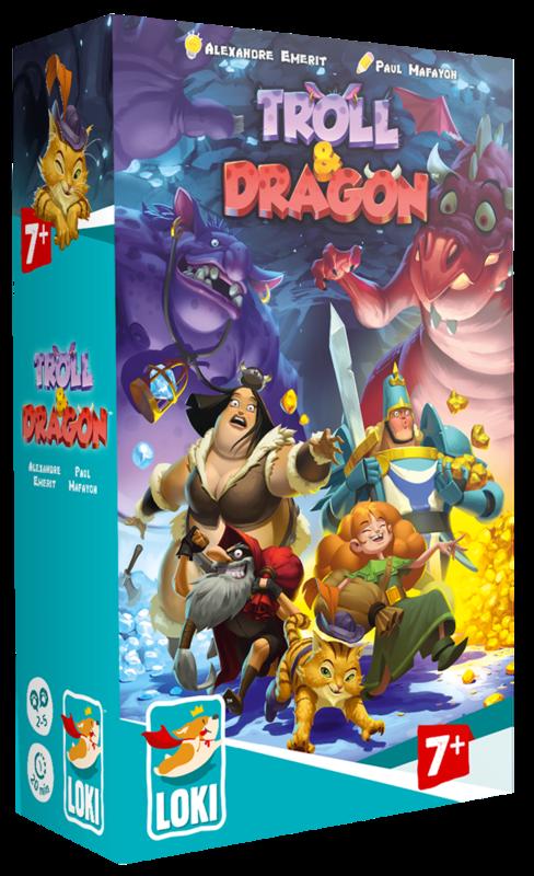 Boutique jeux de société - Pontivy - morbihan - ludis factory - Troll et dragon