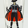 Verre collection ... verres zorro