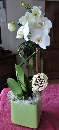 fleurs noces d'or Ruth