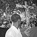 Deroulement d'une ceremonie vaudou religieuse du grand maitre marabout sorcier gandaho safari tidiane