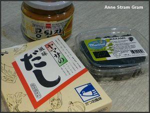 Ingrédients miso