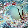 Freedom In Presence Worship Painting-Valerie Sjodin