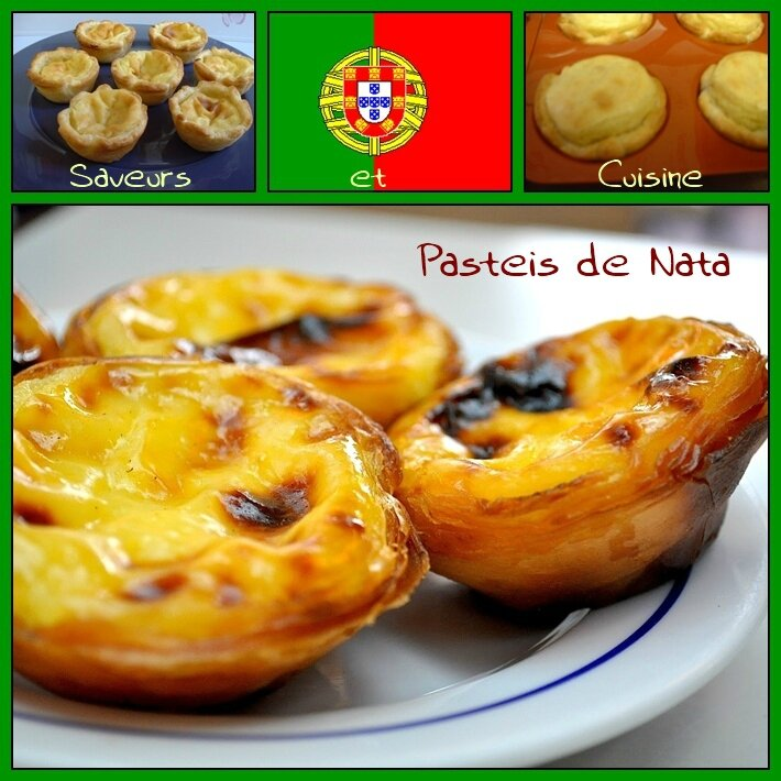 Pastéis de nata (spécialité portugaise)