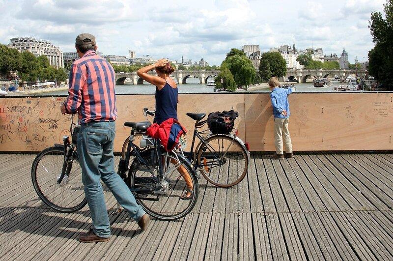vélos Pont des arts_5611