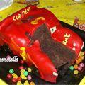 Voiture Cars Gâteau