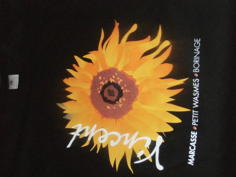 Sunflower T-shirt Tournesol - Black / Noir / Zwart