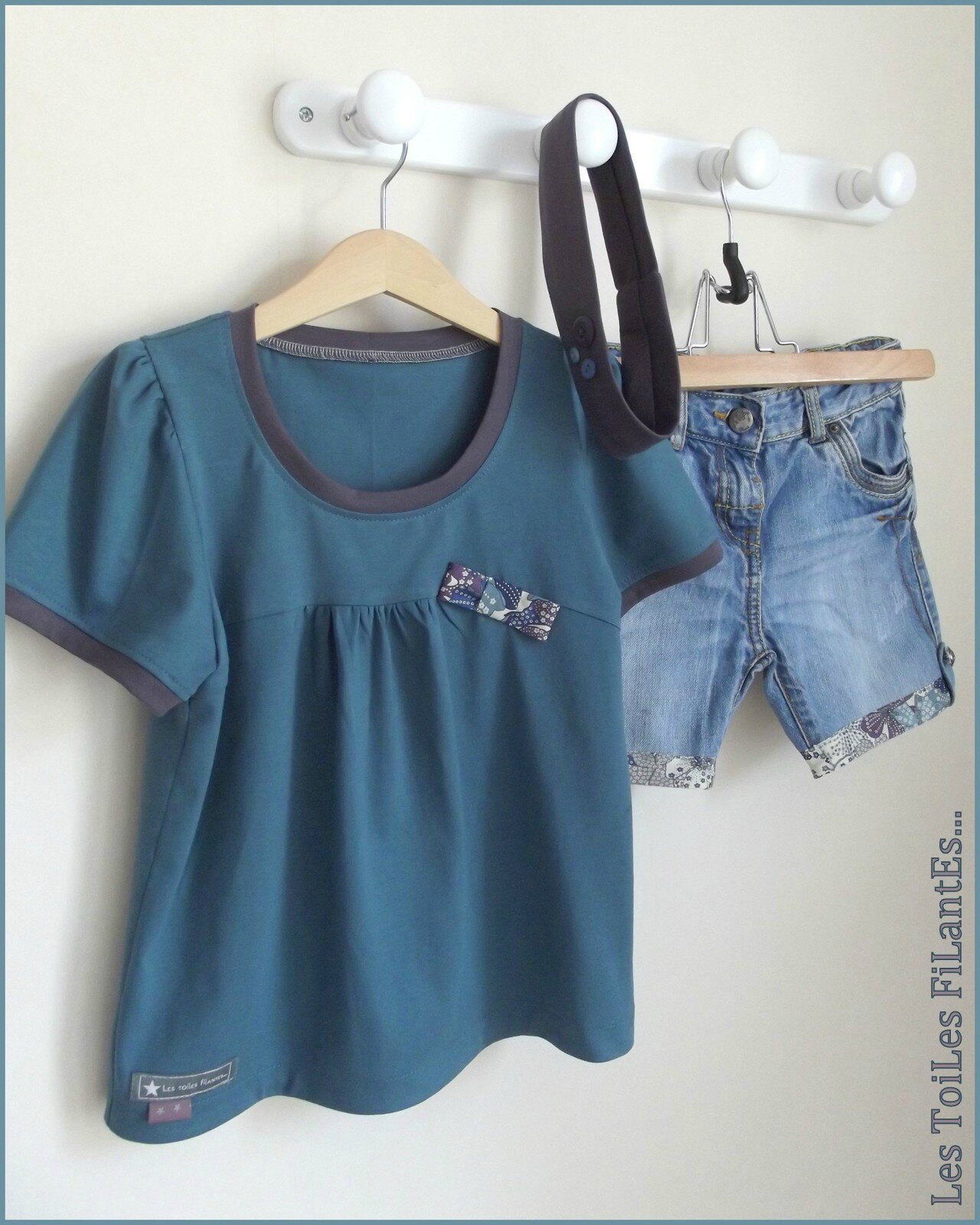 Transformation jeans et tee-shirt assorti Delphine11