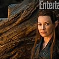 Evangeline Lilly as Tauriel The Hobbit The Desolation of Smaug