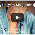 Ma gueule - johnny hallyday (partition - sheet music)
