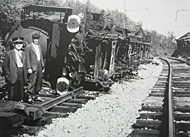 DERAILLAGE DE TRAIN