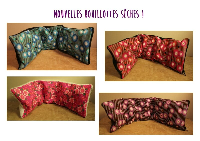 bouillottes seches