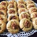 Biscuits fondants aux noix