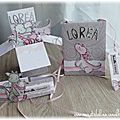 Cs&diy#5: rose, gris & dragons pour un set naissance