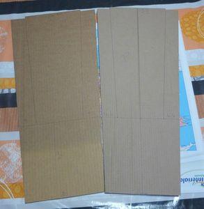 2 plaques externes 2 plaques internes
