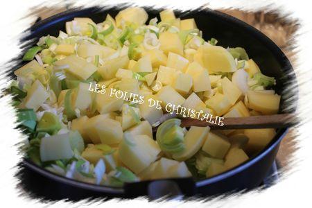Tourte poireaux pommes de terre 2