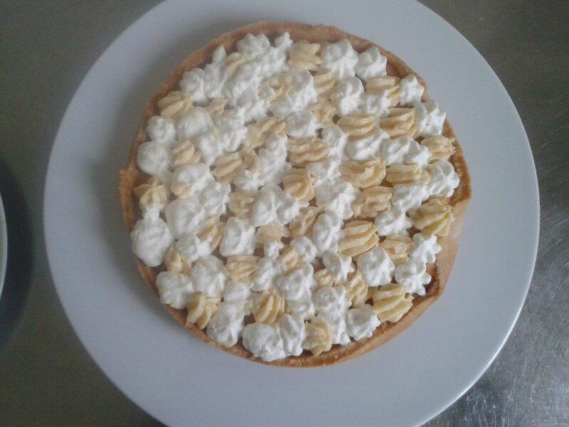 fond de tarte (du chef Custos)