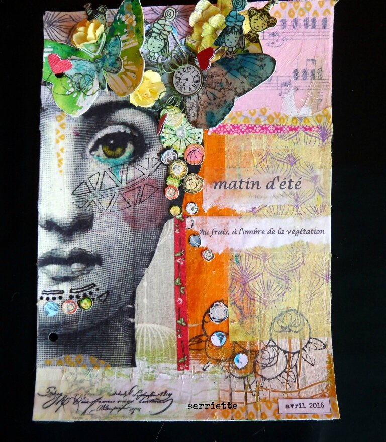 Une page d'Art Journal