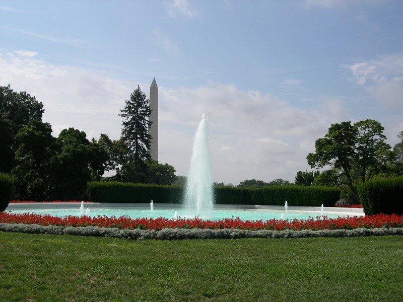 Vue sur le Washington Monument