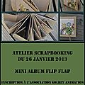 atelier scrap mini flip flap golbey (Copier)