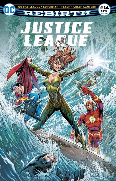 justice league rebirth 14