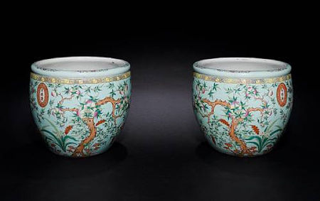 A_very_large_pair_of_famille_rose_turquoise_ground__peach__fishbowls1