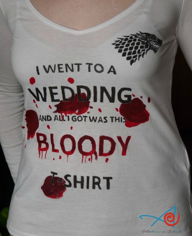 T-shirt Red Wedding (Copier)