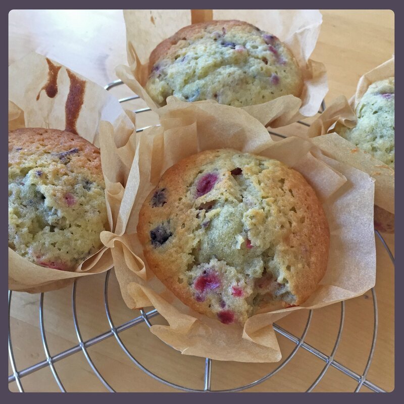 muffin fruits rouges -2