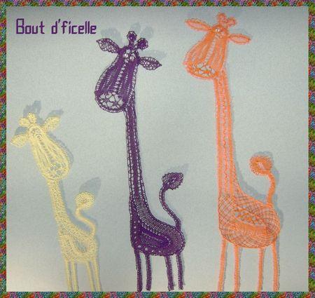 la famille girafe