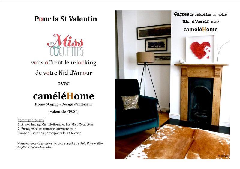 concours caméléHome et miss coquette st valentin