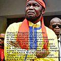 Kongo dieto 2749 : mon message de paix au peuple congolais !