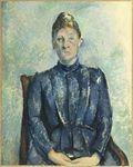 piortrait de Mme Cezanne