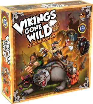 Boutique jeux de société - Pontivy - morbihan - ludis factory - Vikings gone wild