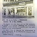 Qui se souvient du minimarché, magasin cedis du 54 rue de belfort, installé en 1973 ?...