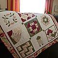 Un sampler pour vos 1er pas en patchwork