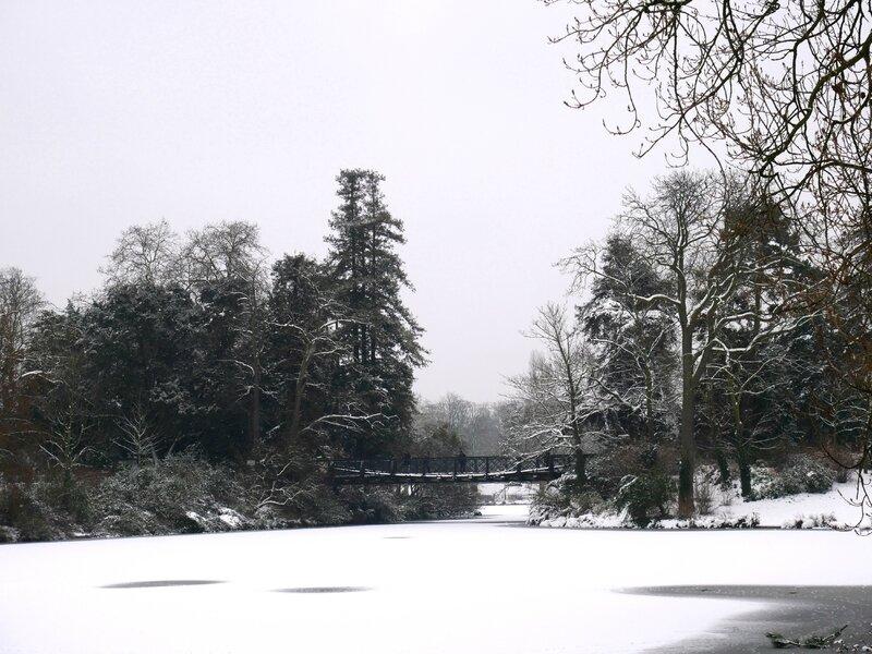 Bois de Vincennes sous la neige