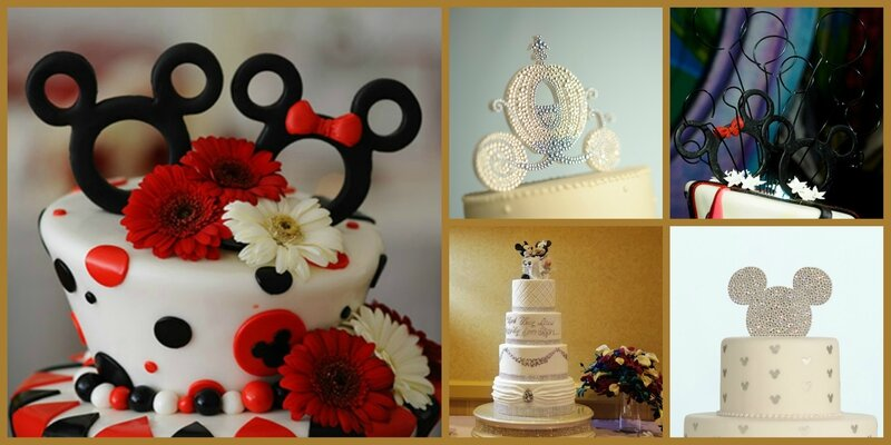 WEDDING CAKE MARAIGE DISNEY