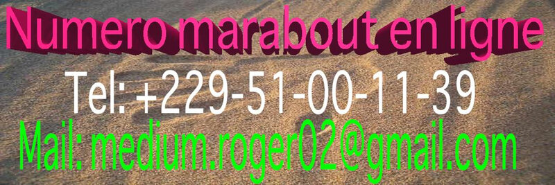 MARABOUT GRATUIT