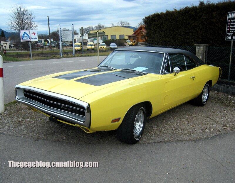 Dodge charger de 1970 01
