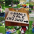 Garage sale: mode d'emploi