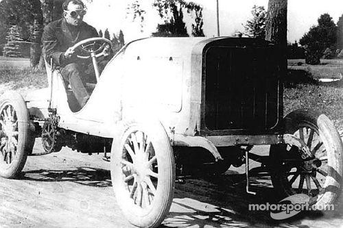 1904 vanderbilt cup - alonzo c 'spyder' webb (pope-toledo 60hp) dnf 5 laps steering gear, acc