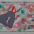 "Mail art "" saint valentin"""