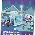 Du 1er au 9 décembre: marché de noël convivial et solidaire